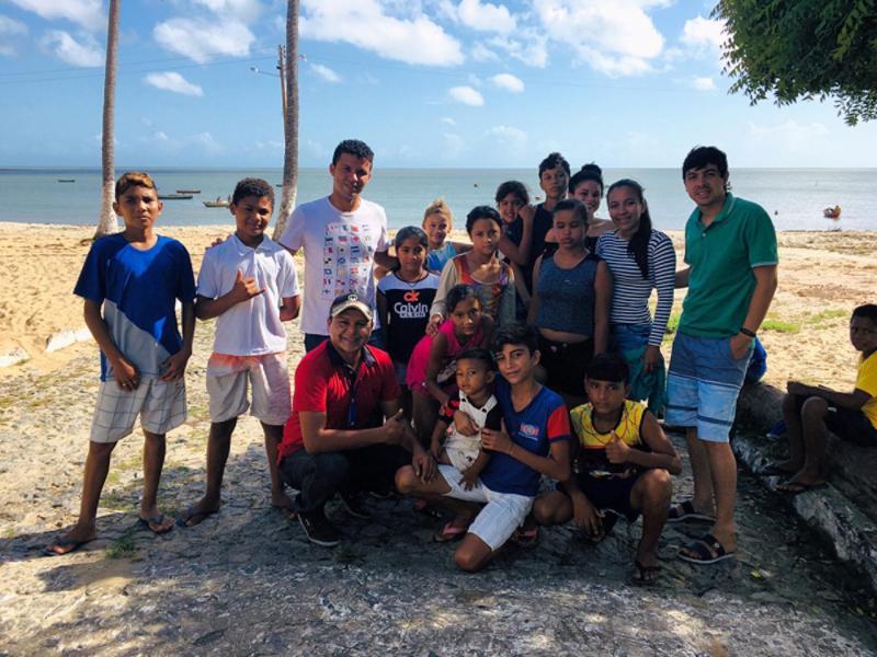 Cajueiro da Praia comemora o Dia Mundial do Meio Ambiente