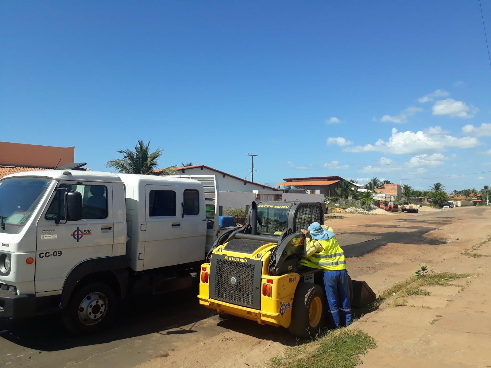 Governo do Estado inicia obras de restauração do trecho de Luís Correia a Coqueiro da Praia