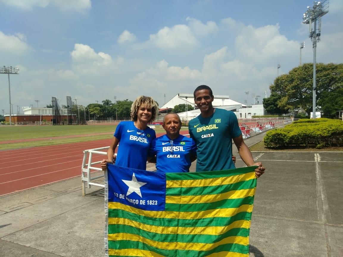Estudante piauiense conquista medalha de prata em competição de atletismo na Colômbia
