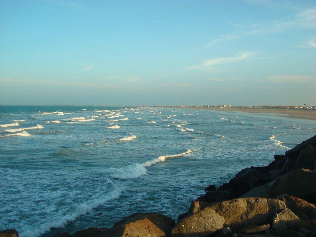 Marinha alerta para ventos de até 61 km/h no litoral do Piauí