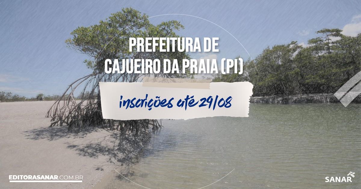 Processo seletivo do Concurso da Prefeitura de Cajueiro da Praia