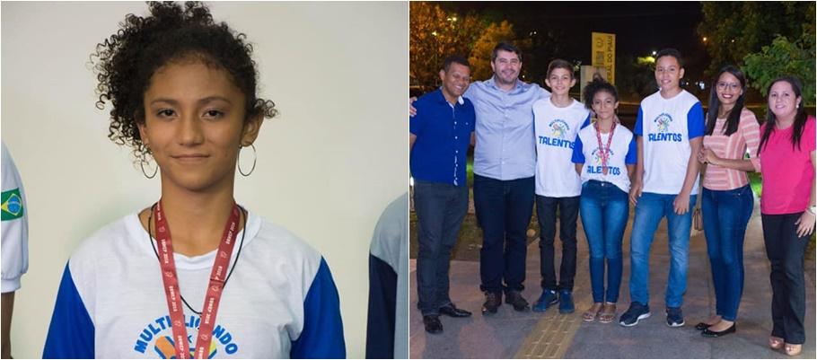 Estudante da rede municipal de Buriti dos Lopes é medalhista na Olimpíada de Matemática