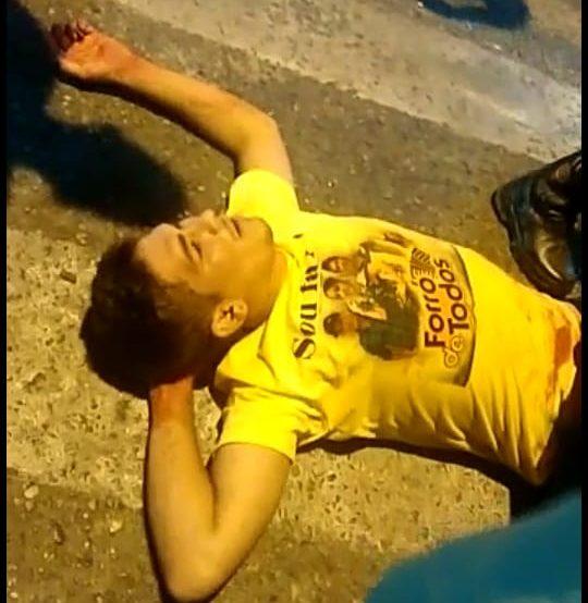 Ciclista é baleado em suposta briga de trânsito com motorista de carro em Parnaíba