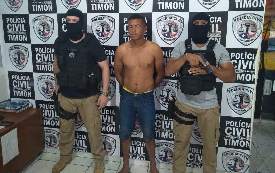 Homem acusado de estuprar os quatro filhos é preso pela Polícia Civil no município de Timon