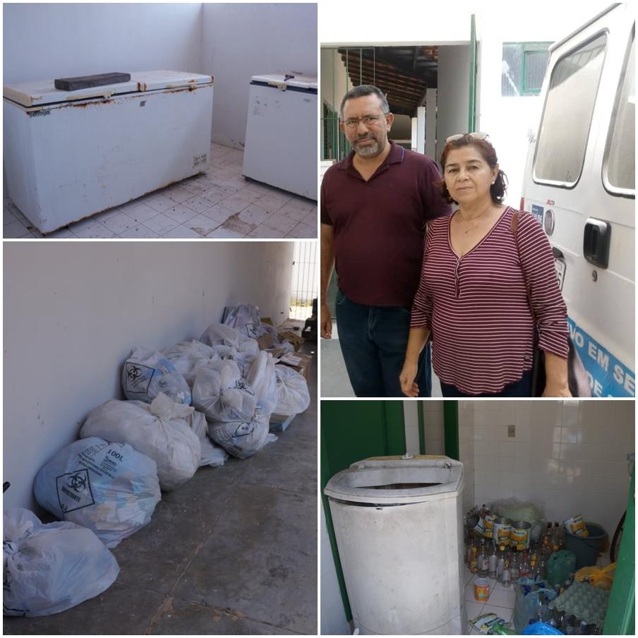 Em fiscalização no Centro de Zoonoses, vereadora Fátima Carmino encontra freezers lotados de animais mortos