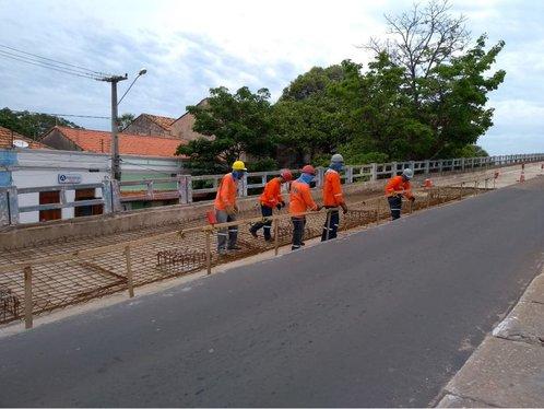 Governador Wellington Dias retoma obras de reforma da Ponte Simplício Dias em Parnaíba