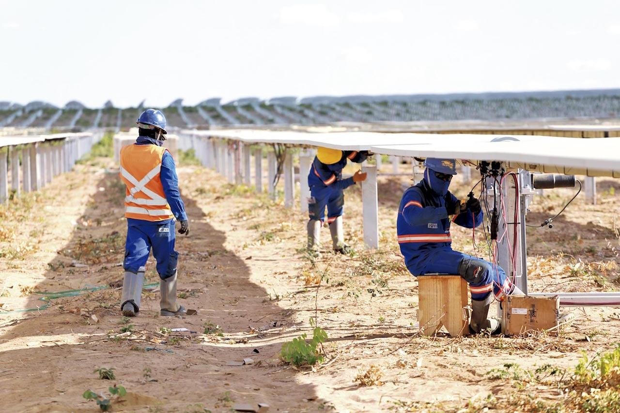 Parque Solar ocupa 545 hectares e emprega 400 piauienses