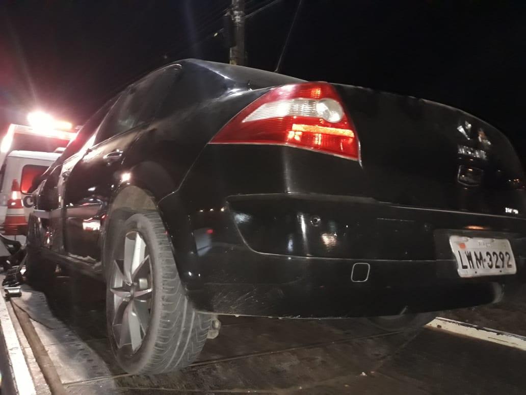Motociclista fica ferido após ser atropelado por veículo desgovernado em Parnaíba