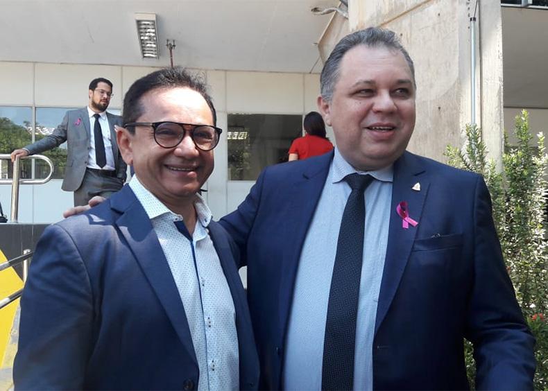 Dr. Hélio busca apoio de Florentino e Ze Hamilton para ser prefeito de Parnaíba
