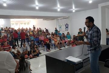 Imepi e Agência de Fomento realização ação para renovar balanças do Mercado da Caramuru
