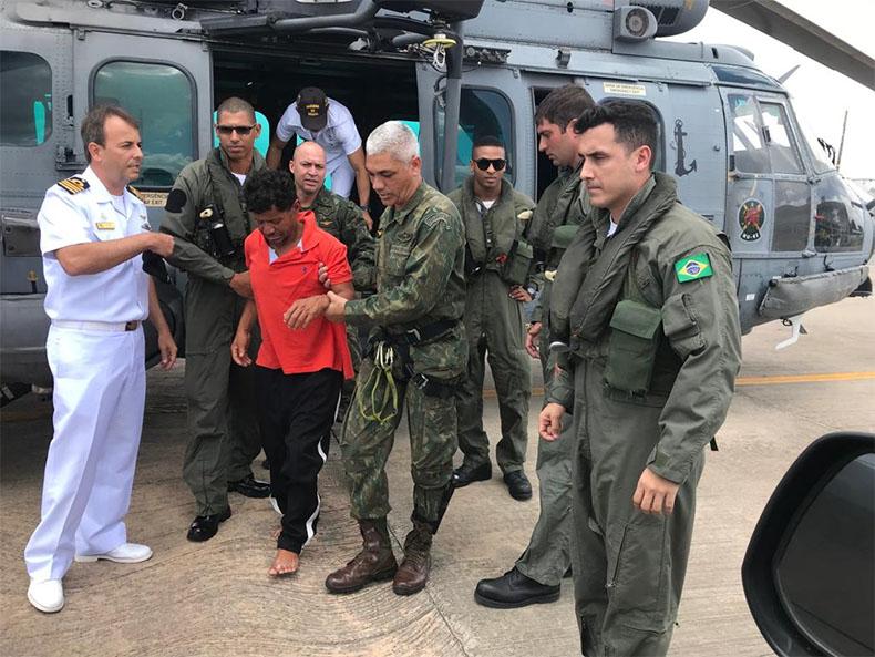 Pescador de Parnaíba é resgatado no litoral do Maranhão após 20 horas no mar