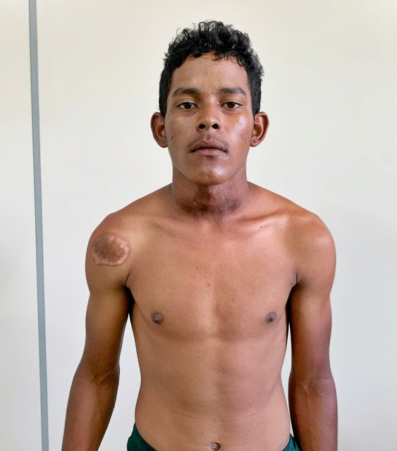 Acusado de matar jovem e atear fogo no corpo é solto após depoimento em Parnaíba