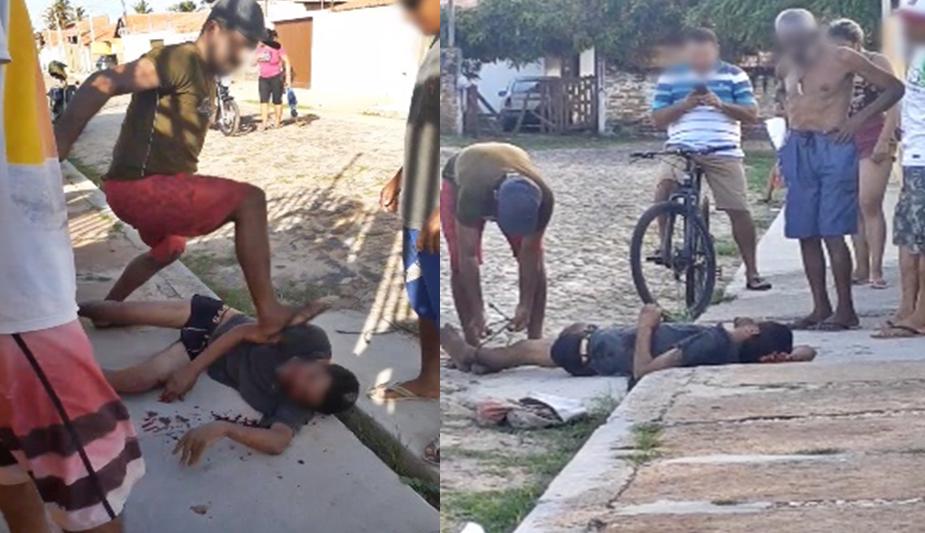 Homem é amarrado e linchado após tentativa de roubo em Luís Correia