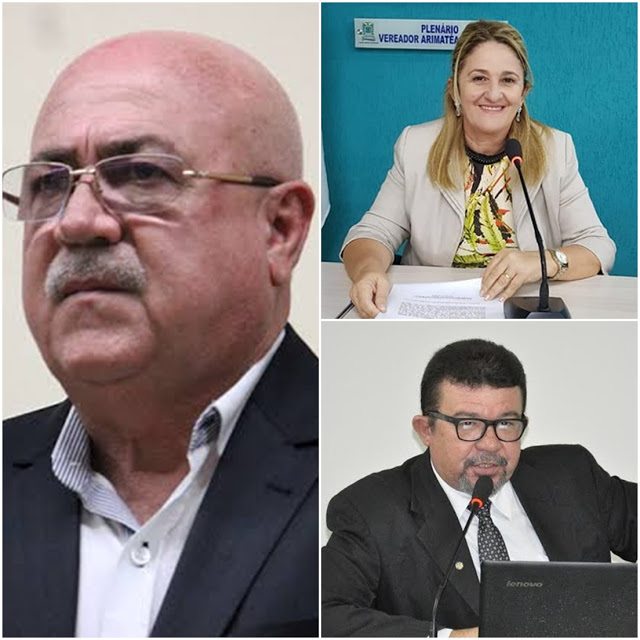 """CLIMA TENSO: Geraldinho diz ter recebido """"rasteira"""" dos vereadores Neta Castelo Branco e Carlson Pessoa"""