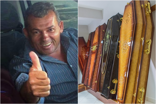 Prefeito Kim do Caranguejo diz que cancelou licitação para comprar 400 caixões