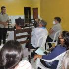 Pré-candidato a prefeito Lucas Morais realiza encontro para tratar da convenção municipal, em Bom Princípio
