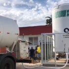 Secretaria de Estado da Saúde instala tanque de oxigênio no Hospital de Campanha Nossa Senhora de Fátima, em Parnaíba