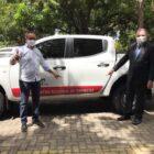 Hemopi de Parnaíba recebe novo veículo da Secretaria de Saúde para apoio em suas ações